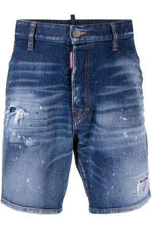 Dsquared2 Knee-length denim shorts