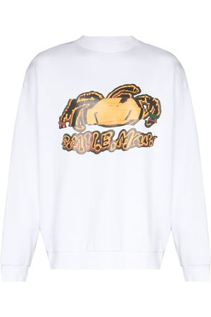 Bianca Saunders Men Sweatshirts - X Future Icons Jamaican Tourist sweatshirt