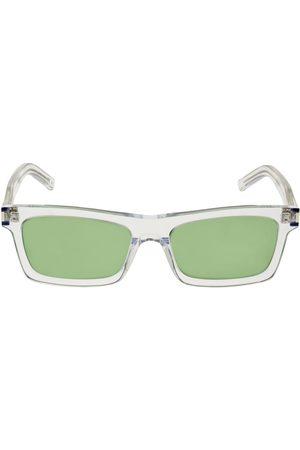 Saint Laurent Ysl Sl 461 Squared Acetate Sunglasses