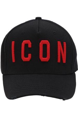 Dsquared2 Icon Cotton Canvas Baseball Hat