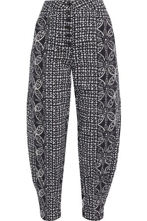 ULLA JOHNSON Woman Brodie Acid-wash High-rise Tapered Jeans Size 0