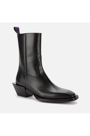 Eytys Luciano Leather Western Boots