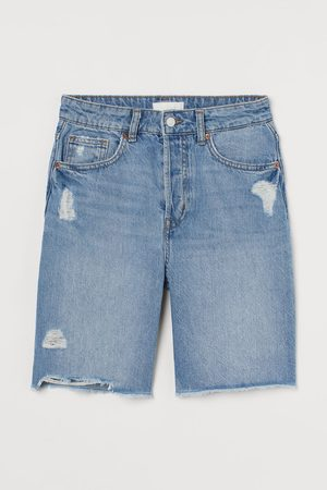 H&M High Waist Bermuda Shorts