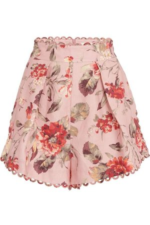 ZIMMERMANN Cassia scallop shorts