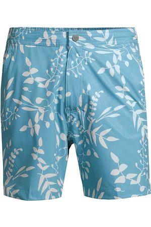 ONIA Men's Calder Printed Swim Trunks - Shady - Size Large