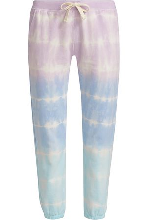 Electric & Rose Women's Pacifica Tie-Dyed Joggers - Lilac Sea Salt Serene - Size Medium