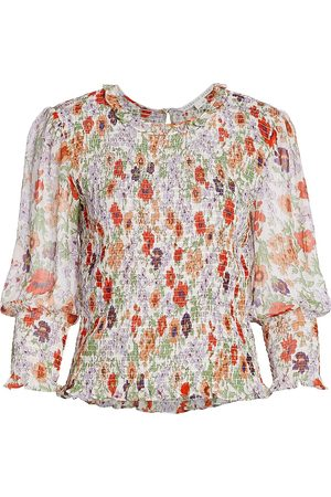 VERONICA BEARD Women's Kali Floral Top - Size 8