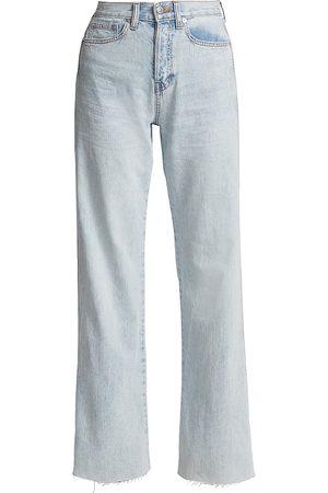 VERONICA BEARD Women's Taylor High-Rise Wide-Leg Jeans - - Size 28