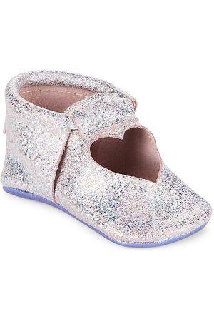 Freshly Picked Baby Girl's Sweetheart Ballet Flats - Rose Quartz - Size 3 (Baby)