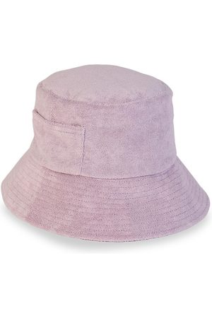 Lack of Color Women's Wave Terry Bucket Hat - Lavender - Size Small