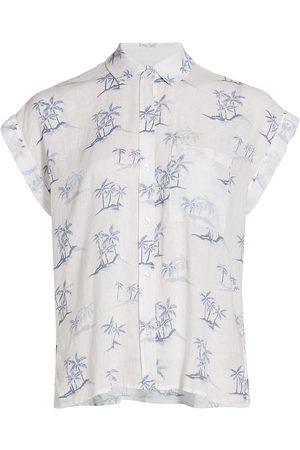 Rails Women's Whitney Tropical Print Shirt - Hawaii - Size Medium