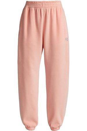 Alexander Wang Women's Velour Sweatpants - Quartz - Size XL