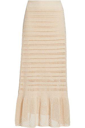 A.L.C. Women's Amaya Lace Skirt - Desert Rose - Size XS