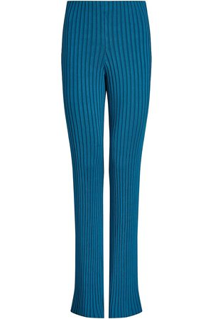GALVAN Women's Rhea Knit Lounge Pants - Peacock - Size Medium