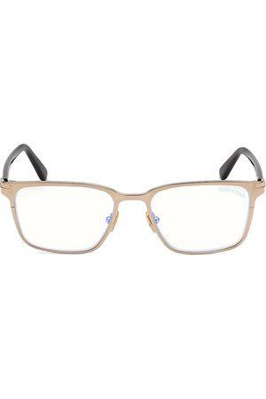 Tom Ford Men's 53MM Filter Optical Glasses - Shiny Rose