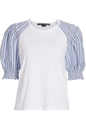 VERONICA BEARD Women's Marcia T-Shirt - - Size Small