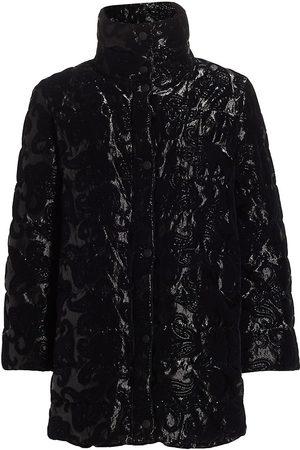 Etro Men's Santa Cruz Velvet Down Jacket - - Size 8