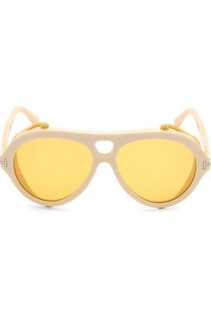 Tom Ford Men's Neughman 60MM Pilot Sunglasses