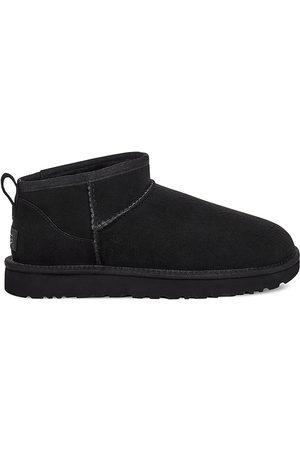 UGG Women's Classic Ultra Mini Sheepskin Ankle Boots - - Size 7