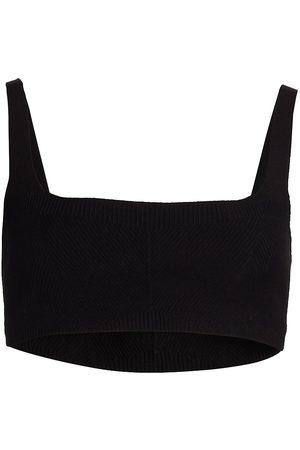 GAUGE81 Women's Zarza Cropped Top - - Size Medium