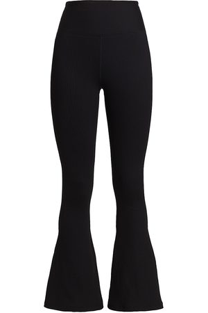 YEAR OF OURS Women's Ribbed Flare Leggings - - Size XS