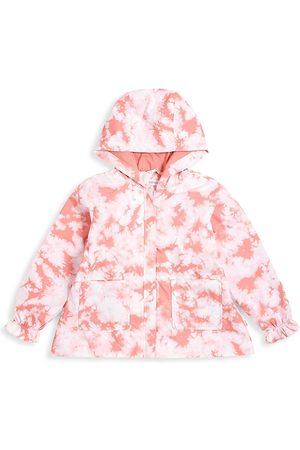 Miles Baby Little Girl's & Girl's Tie-Dye Breeze Breaker - Coral - Size 2