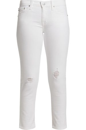 AG Jeans Women's Ex-Boyfriend Slim Jeans - - Size 32