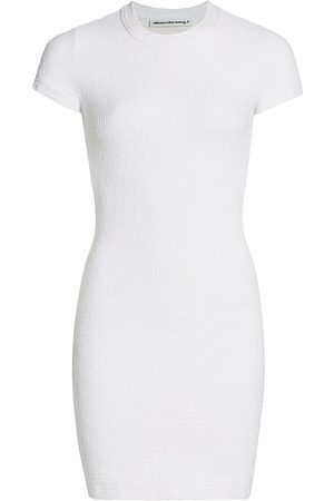 Alexander Wang Women's Logo Jacquard Mini Dress - - Size XS