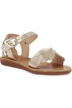 Ancient Greek Sandals Little Girl's & Girl's Andromeda Soft Sandals - - Size 2.5 (Child)