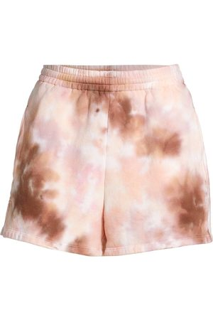 A.L.C. Women's Wrenn Tie-Dyed Sweat Shorts - Size XS