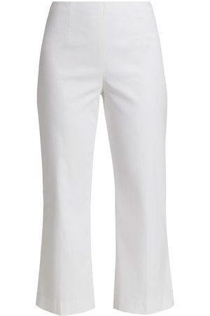 NIC+ZOE Women's Crop Wonderstretch Pant - Paper - Size 14