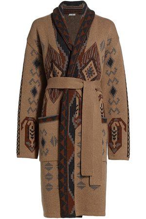 Etro Women's Oversize Pasadena Wool Coat - - Size 10