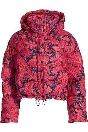 Etro Women's Piumino Long Beach Puffer Coat - - Size 10