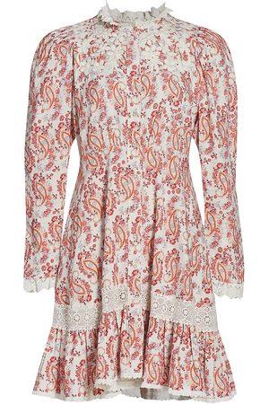 by Ti Mo Women's Paisley Mini Dress - Paisley - Size XL