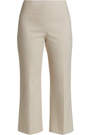 NIC+ZOE Women's Crop Wonderstretch Pant - Bleached Copper - Size 8