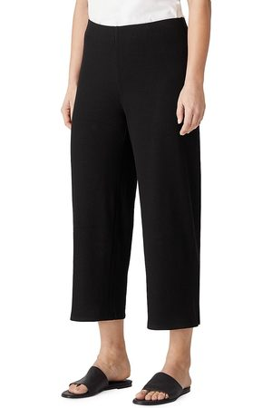 Eileen Fisher Women's Straight-Leg Crop Pants - - Size XS