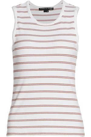 VERONICA BEARD Women's Kenny Striped Tank - - Size XS