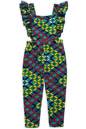Elisamama Baby's, Little Girl's & Girl's Ada Patchwork Jumpsuit - Size 6