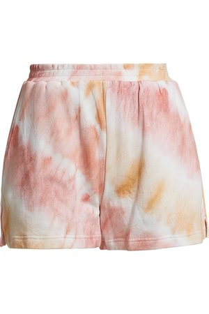 Rails Women's Jane Tie-Dyed Lounge Shorts - Sunset Tie Dye - Size Small