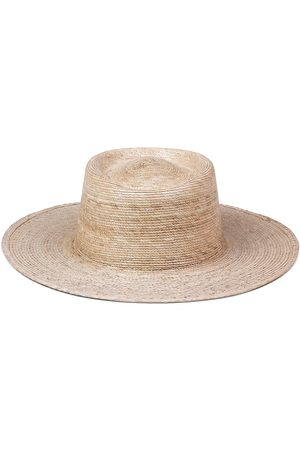 Lack of Color Women's Palma Woven Boater Hat - Natural - Size Large