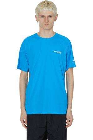 Columbia Men T-shirts - Titan ultra ii t-shirt STATIC /GREY S