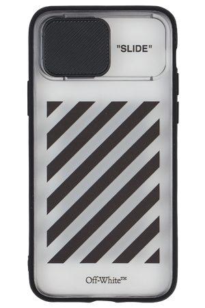 OFF-WHITE Diag slide iphone 11 pro case U