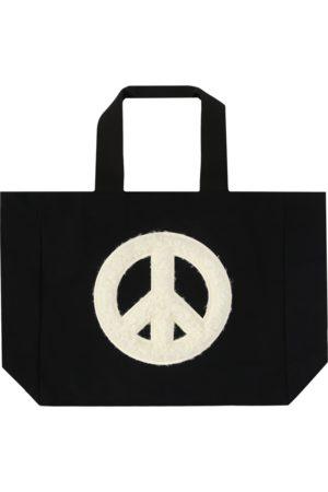 Available Nowhere Peace talks furry tote bag U