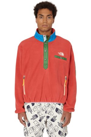 Brain Dead The north face placket pullover fleece SUNBAKED M