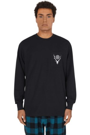 South 2 West 8 Pocket circle horn longsleeve t-shirt S