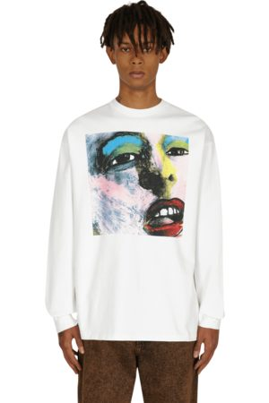 Levi's Central station design 80s graphic longsleeve t-shirt BUMMED MULTI COLORED XS