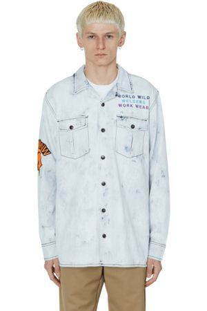 U.P.W.W. Work shirt BLEACHED S