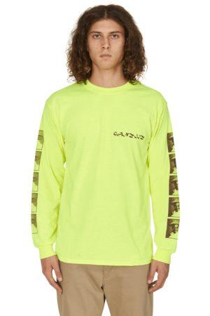 MR GREEN Black weirdos ganziiz long sleeves t-shirt S