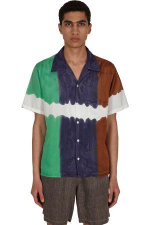 Noma Twist 3dye shirt MINT/NAVY L