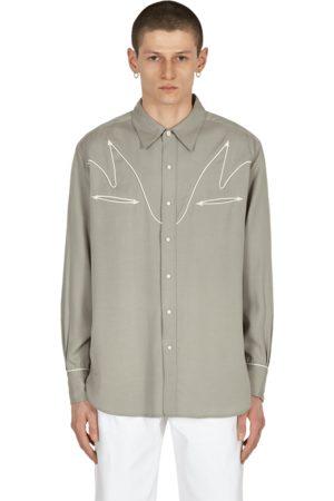 Wacko Maria Wolf's head western shirt M